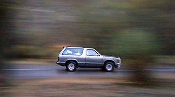 Emissions sensor in car