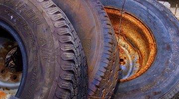 Tread on tire