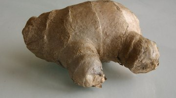 Ginger root is a traditional remedy for nausea and vomiting.