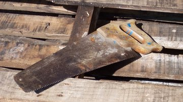 Reciprocating saws are a huge improvement over old hand saws
