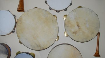 The timbrel, or tambourine, has changed little through the ages.