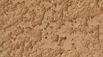 A splatter effect resembles block texture.