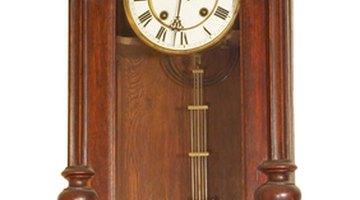 Longcase clocks hold the clock workings and the pendulum.