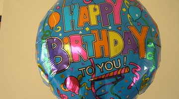 Mylar balloons can hold helium for weeks.