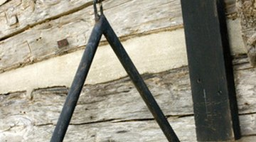 A simple metal triangle was used in British folk music.