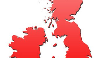 Ireland and England use a natoinal grid reference system.