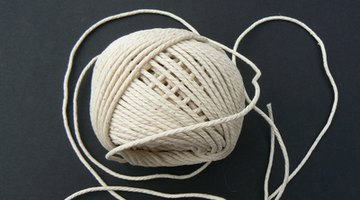 String comes in a number of different thicknesses.