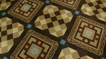 Mix and match patterns for a custom floor.