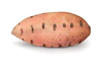 Las batatas tienen un índice glucémico más alto que el ñame.