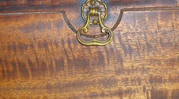 Antique finished wood
