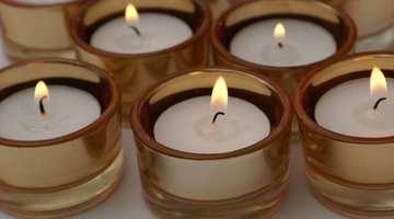 Scented candles only omit smells when lit.