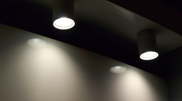 Accent lights are generally sold as an entire fixture and are easy to install.