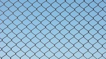 Rigid plastic fencing