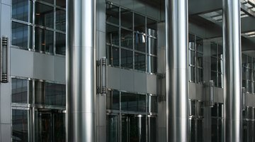 Stainless steel used in design
