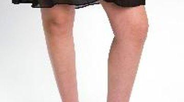 Los coágulos de sangre pueden desarrollarse en las piernas.