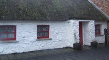 Ceilings in old cottages may be extremely low.