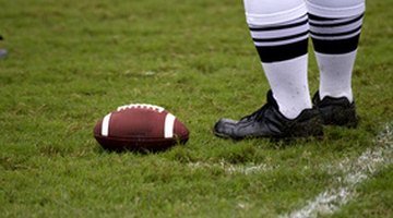 Leather's flexibility and strength make it the perfect material for footballs.