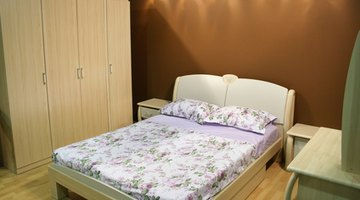 Dressers often accompany a bedroom suite.