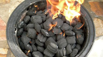 Regular BBQ ash is fine to use as long as there's no lighter fluid on it.