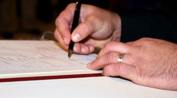 Sign the deed of incorporation in front of a notary.