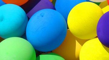 Balloons help make a nice round shape.