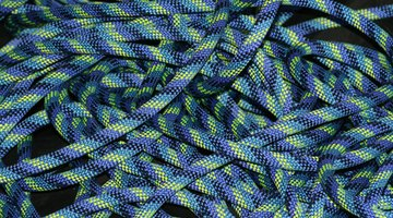 Nylon rope is easy to work with and won't rot.