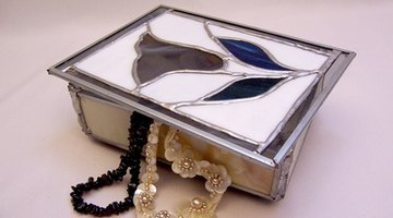A keepsake box accented with nickel is a possible gift for a 21st anniversary.