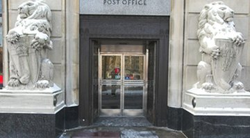 Get post office records and statements of receipts at your local post office.