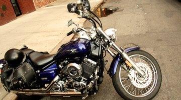Shiny new motorcycle engine