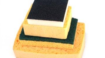 Use actual sandpaper, not a sanding block.