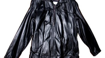 Coats made of leather can handle rain and cold winds with ease.