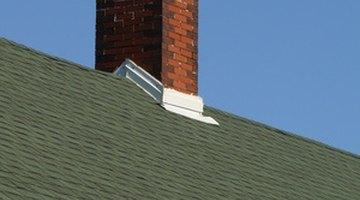 Flashings, vent, ridge cap, chimney.