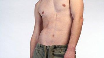 Man displaying poor posture
