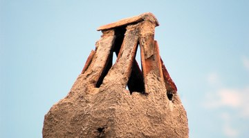 An early tented chimney stack