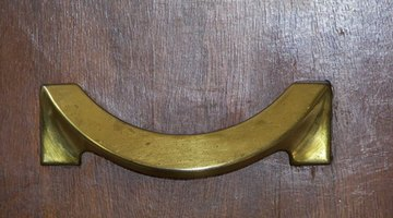 Handles can often be changed on a dresser drawer.