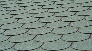Decorative shingle pattern.