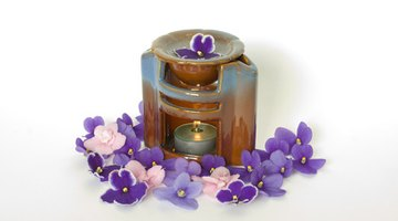 Create a layered scent in a fragrant oil warmer.