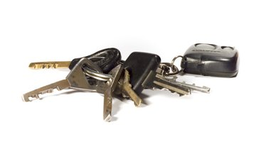 Keys in ignition