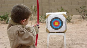 Even the very young can enjoy archery.