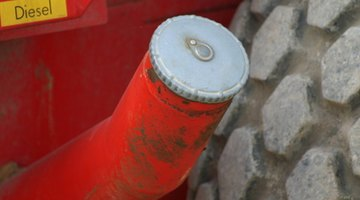 Exhaust pipe of 18 wheeler truck