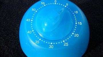 Set kitchen timer for 15 minutes.