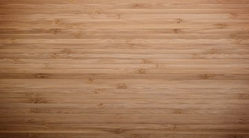 Close-up of bamboo board