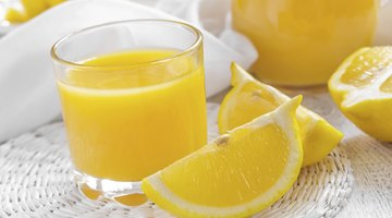 Lemon juice has a mild acidic quality that helps remove odor from clothing and linens.