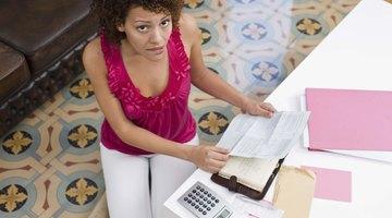 Una lista de gastos personales para un presupuesto familiar