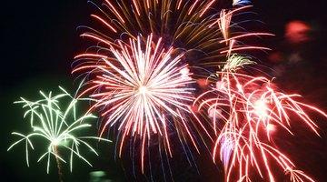 Birthday fireworks
