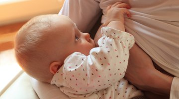 Mother to breastfeed her baby