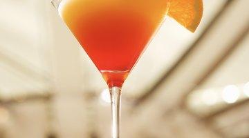 The orange martini: a simple favourite