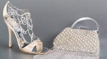 Metallic shoes work well on formal occasions.