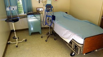 how to take apart a hospital bed