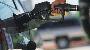 Diesel sign on gas pump